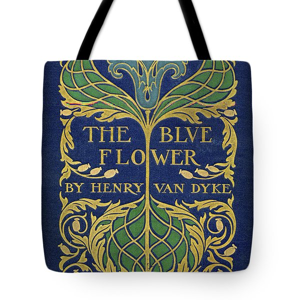 Cover Design For The Blue Flower Tote Bag