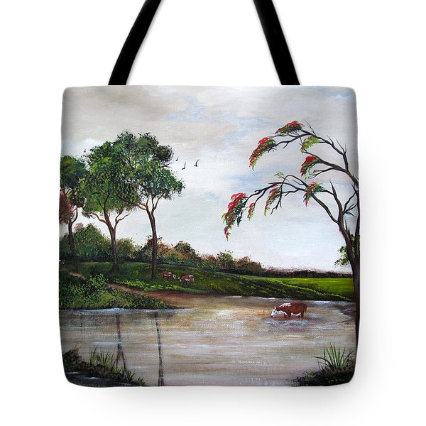 Cow Haven Tote Bag