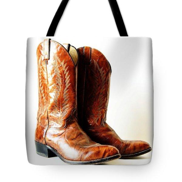 Cowboy Boots Tote Bag