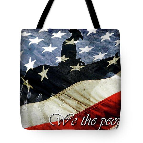 Cowboy Patriot Tote Bag