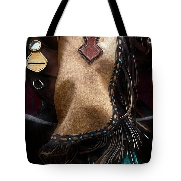 Cowgirl Swing Tote Bag