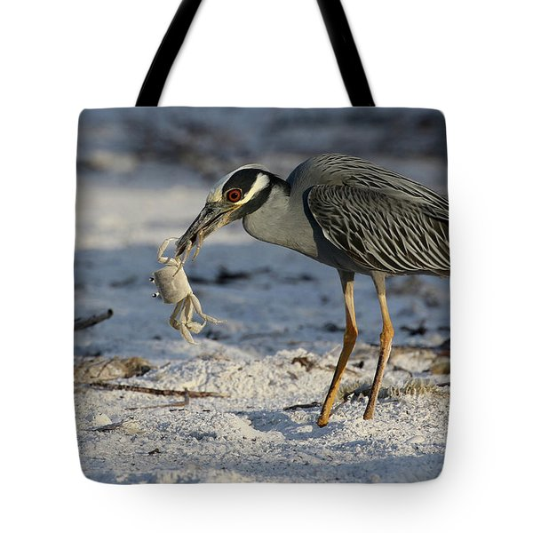 Crab For Breakfast Tote Bag