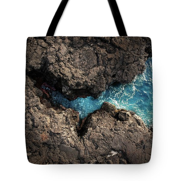 Cracked Open Tote Bag