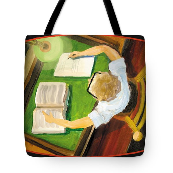 Crack'n The Books Tote Bag