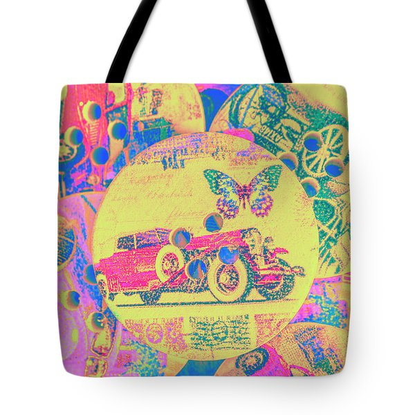 Crafty Car Commercial Tote Bag