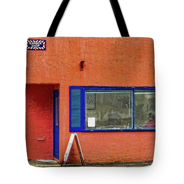 Cranberry Barber Shop Tote Bag
