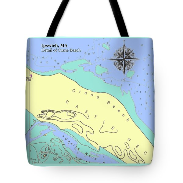 Crane Beach Tote Bag