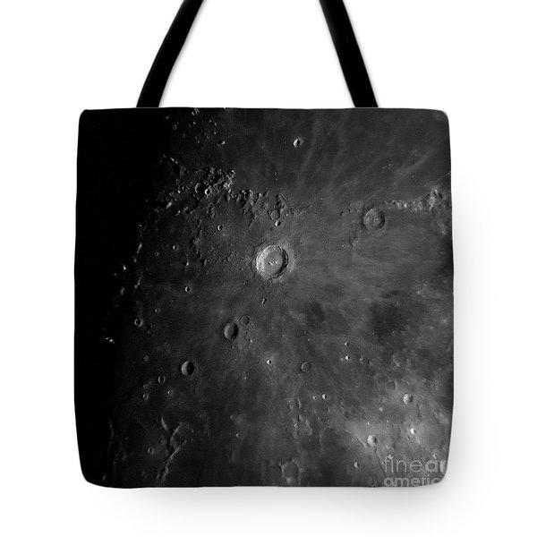 Crater Copernicus Tote Bag