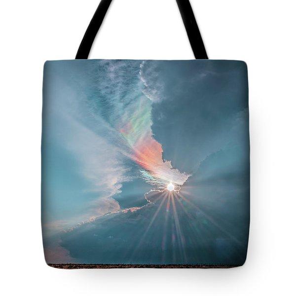 Crazy Luminescence Tote Bag