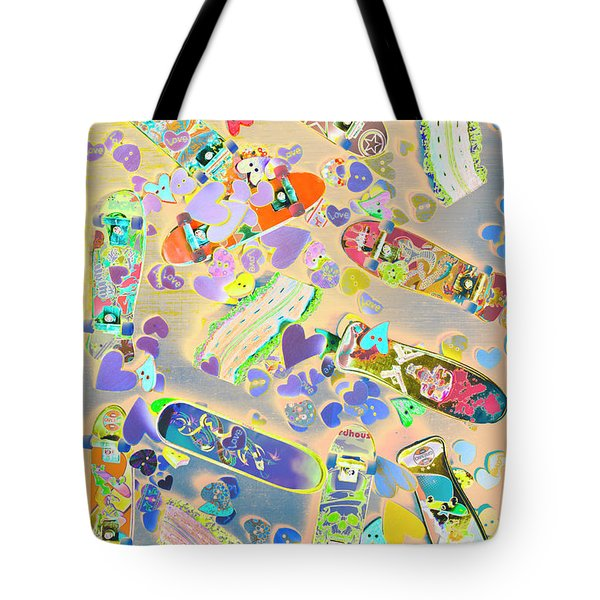 Creative Skate Tote Bag