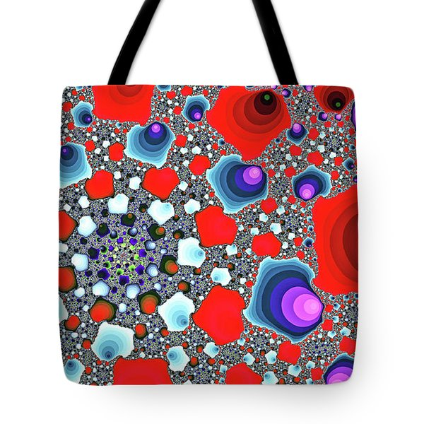 Creative Spiral Abstract Art Tote Bag