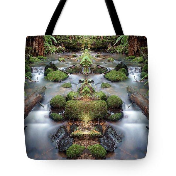 Creek Diamonds #1n Tote Bag