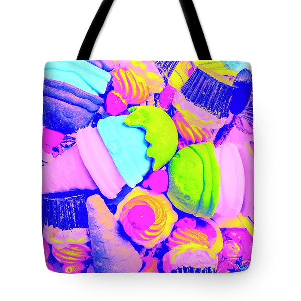 Creme De La Ice-cream Tote Bag