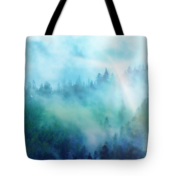 Crisp Morning Light Tote Bag