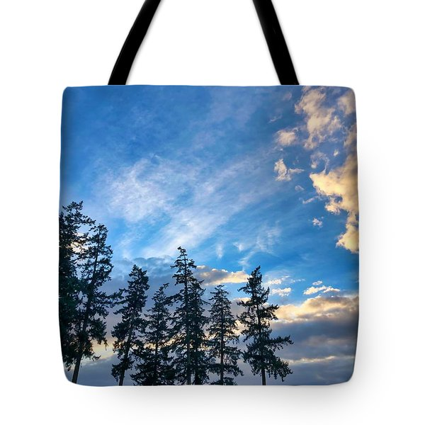 Crisp Skies Tote Bag