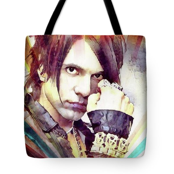 Criss Angel Tote Bag