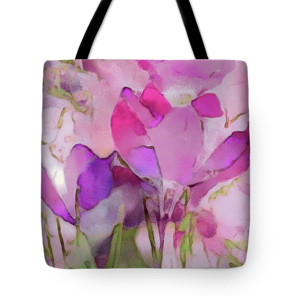 Crocus So Pink Tote Bag