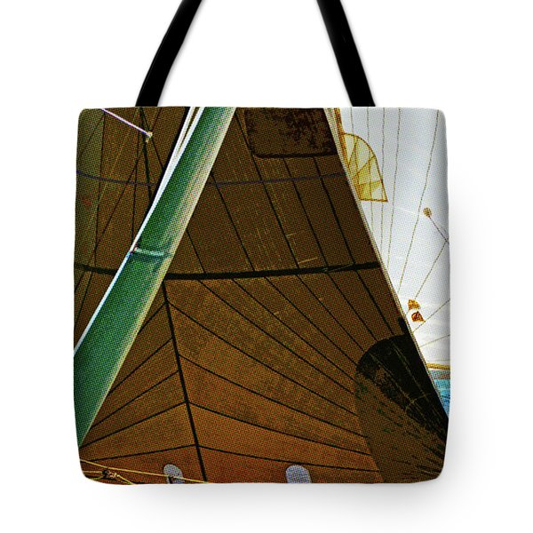 Crossing Sails Tote Bag