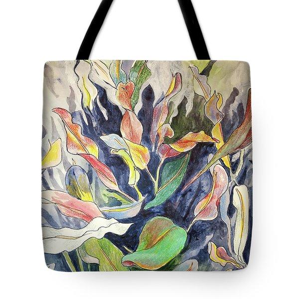 Croton Plant Tote Bag