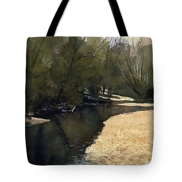 Crow Creek, Augusta, Missouri Tote Bag