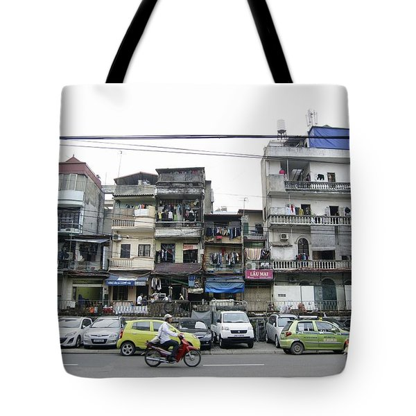 Crowded Streets Of Hanoi Tote Bag