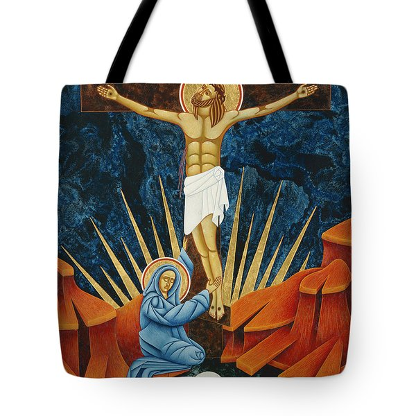 Crucifixion By Jodi Simmons Tote Bag