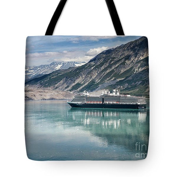 Cruise Ship Tote Bag