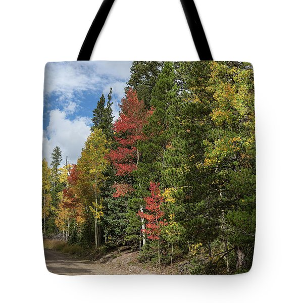 Tote Bag featuring the photograph Cruising Colorado by James BO Insogna