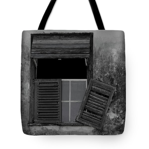 Crumblling Window Tote Bag