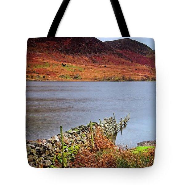 Crummock Water - English Lake District Tote Bag