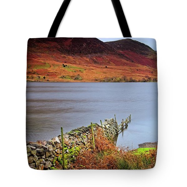 Crummock Water - English Lake District Tote Bag