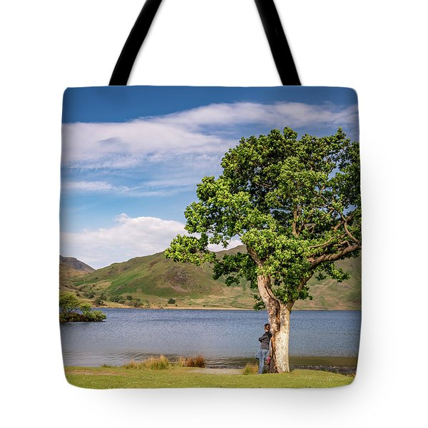 Crummock Water View Tote Bag