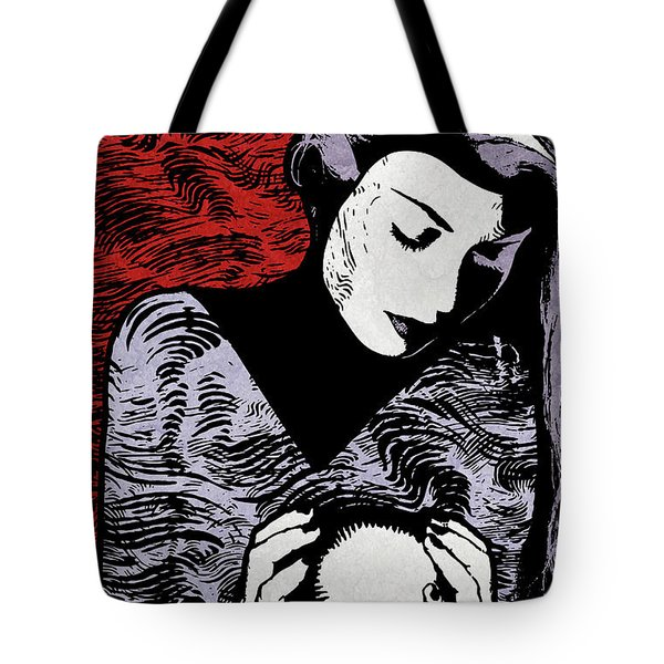 Crystal Ball Tote Bag