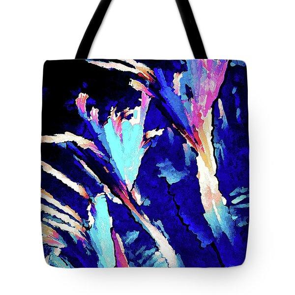 Crystal C Abstract Tote Bag