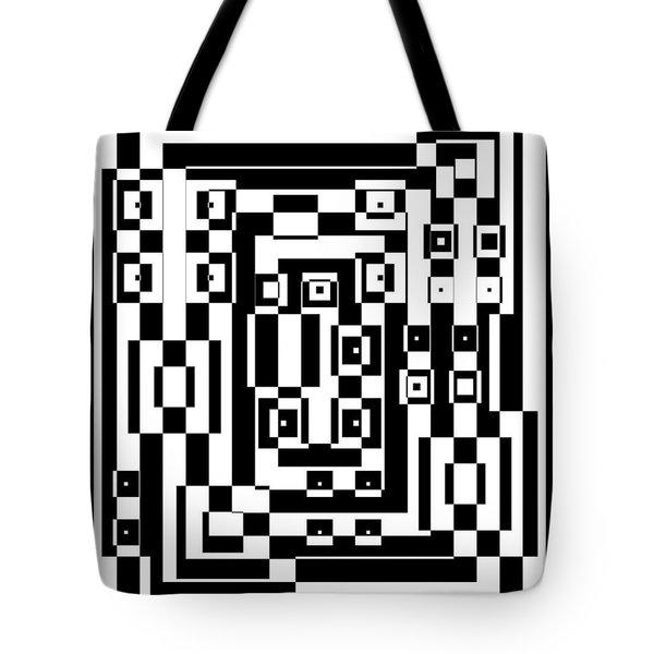 Cubical Cubes  Tote Bag