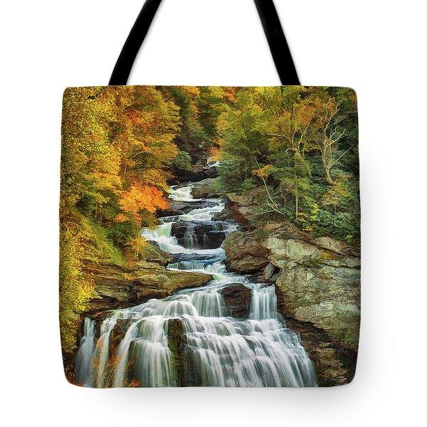Cullasaja Falls Tote Bag
