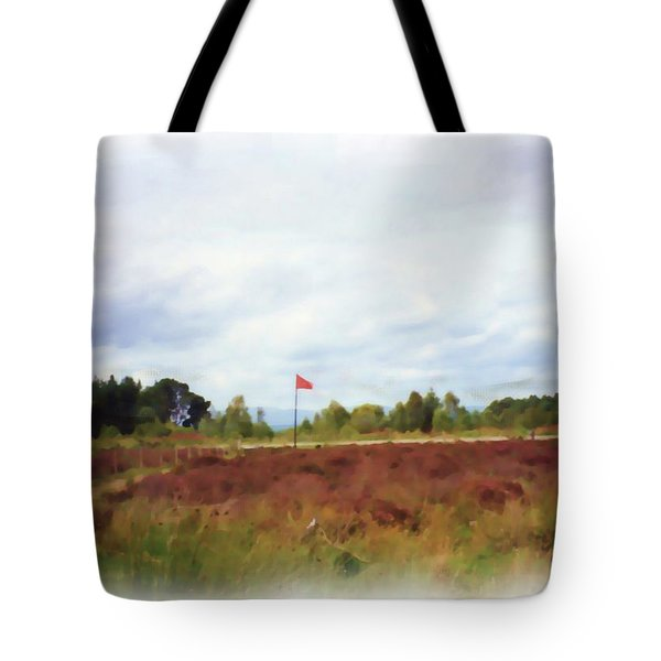 Culloden Battlefield Painting Tote Bag