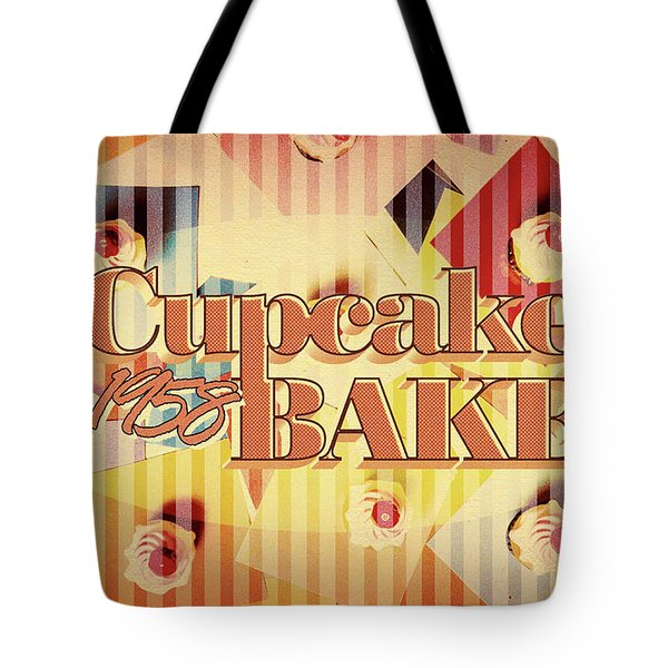 Cupcake Bake 1958 Tote Bag