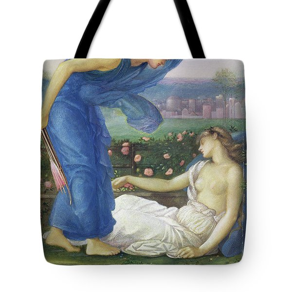 Cupid And Psyche, Circa 1865 Tote Bag