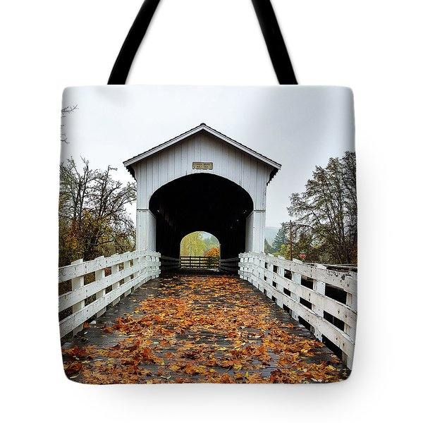 Curin Covered Bridge 1 Tote Bag