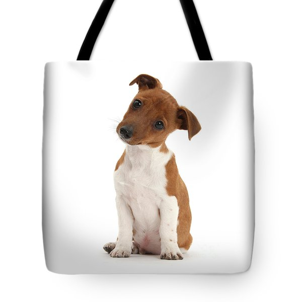Tote Bag featuring the photograph Curious by Warren Photographic