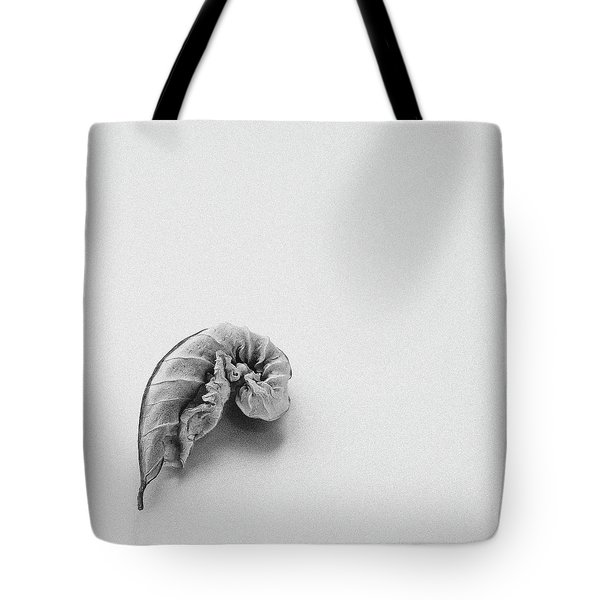 Curled Leaf - Fine Art Photograph Tote Bag