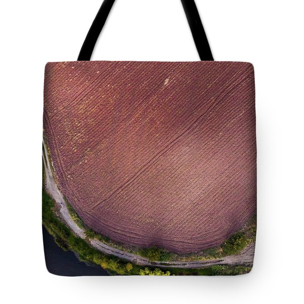 Curved Pathway Tote Bag