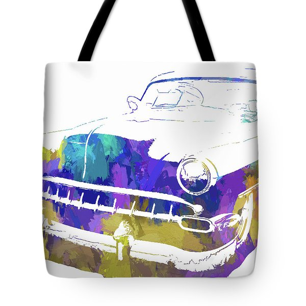 Custom 1954 Chevy Abs Inv Tote Bag