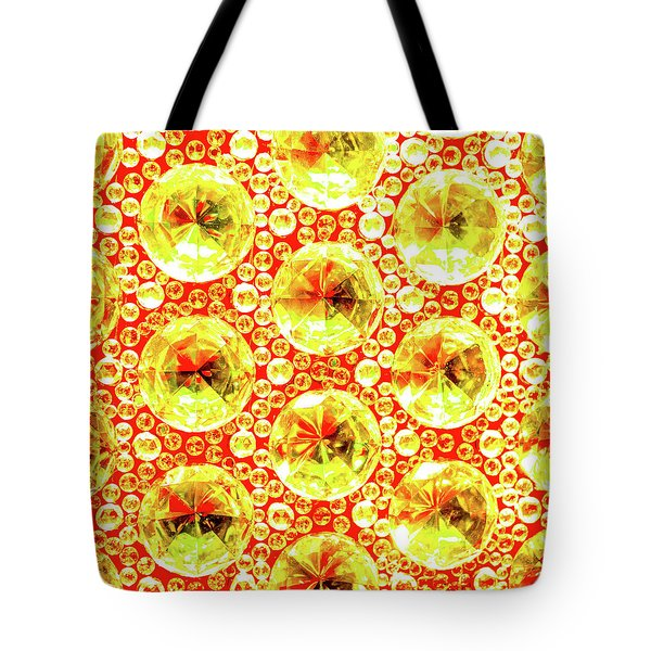 Cut Glass Beads 3 Tote Bag