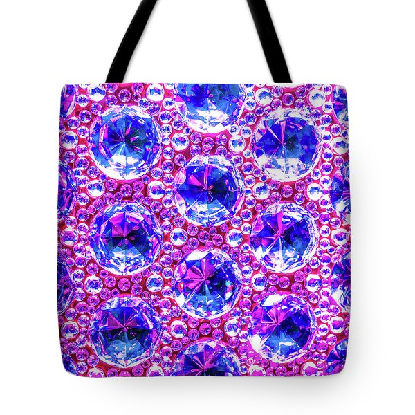 Cut Glass Beads 4 Tote Bag