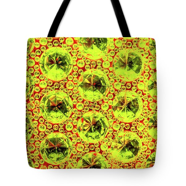 Cut Glass Beads 5 Tote Bag
