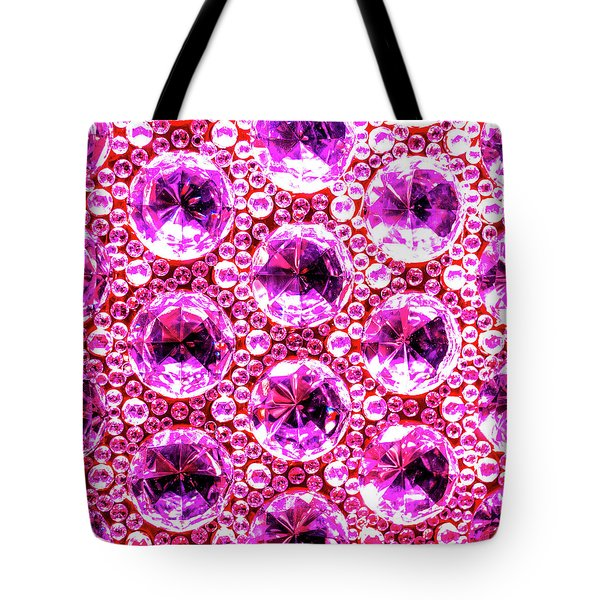 Cut Glass Beads 6 Tote Bag