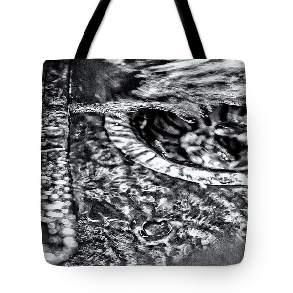Cutlery Tsunami Tote Bag