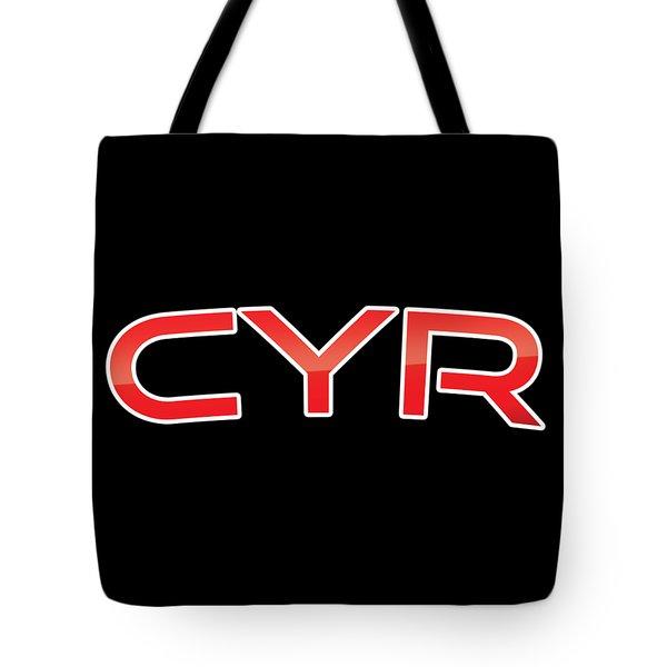 Cyr Tote Bag